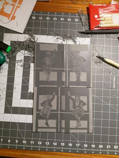 Linoleum Carving