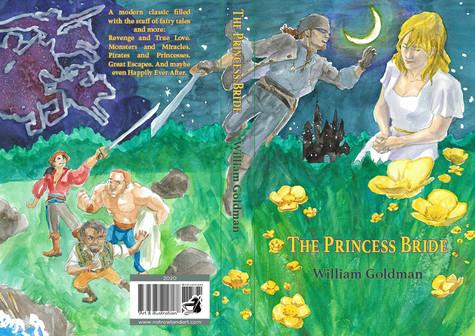 Cover Design for The Princess Bride by William Goldman