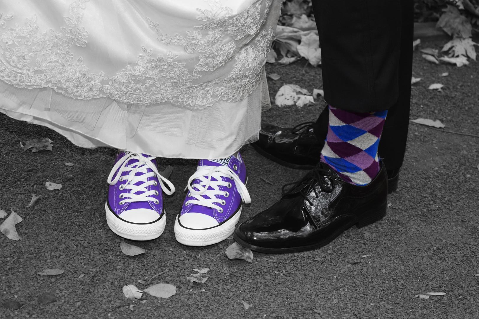 Lilac & Blue