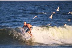Surfing at Sundown
