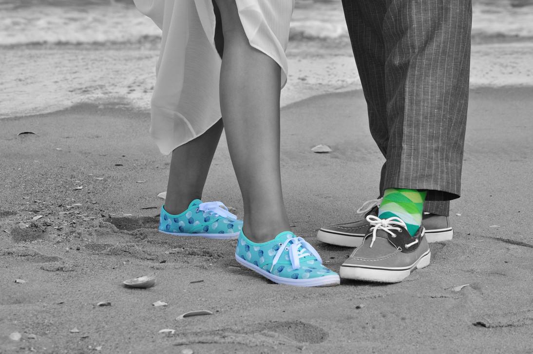 Teal & Green