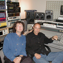 Manfred & the great producer Andreas Nag