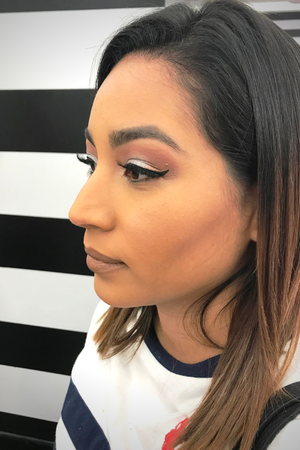 Neutral Eyes with a Wing