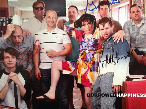 Borrowed Happiness Set Photos (signed by cast)