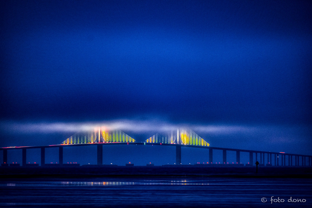 Astronomical Twilight - Sunshine Skyway Bridge