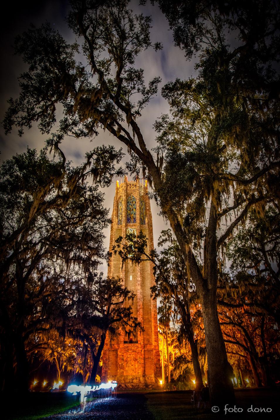 Bok Tower at Night