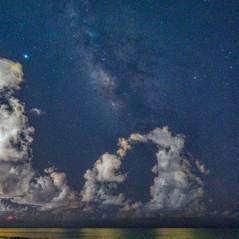 The Milky Way at Caspersen Beach