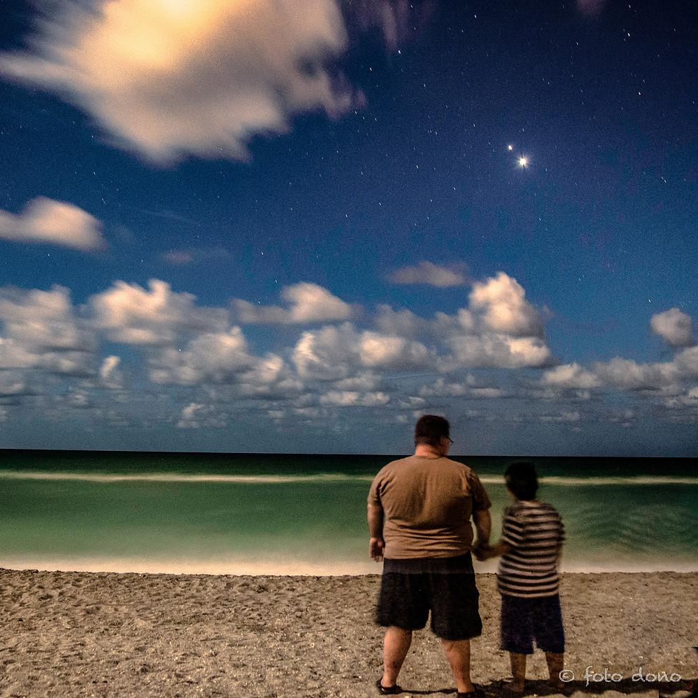 Caspersen Beach - Jupiter & Venus hanging in the sky