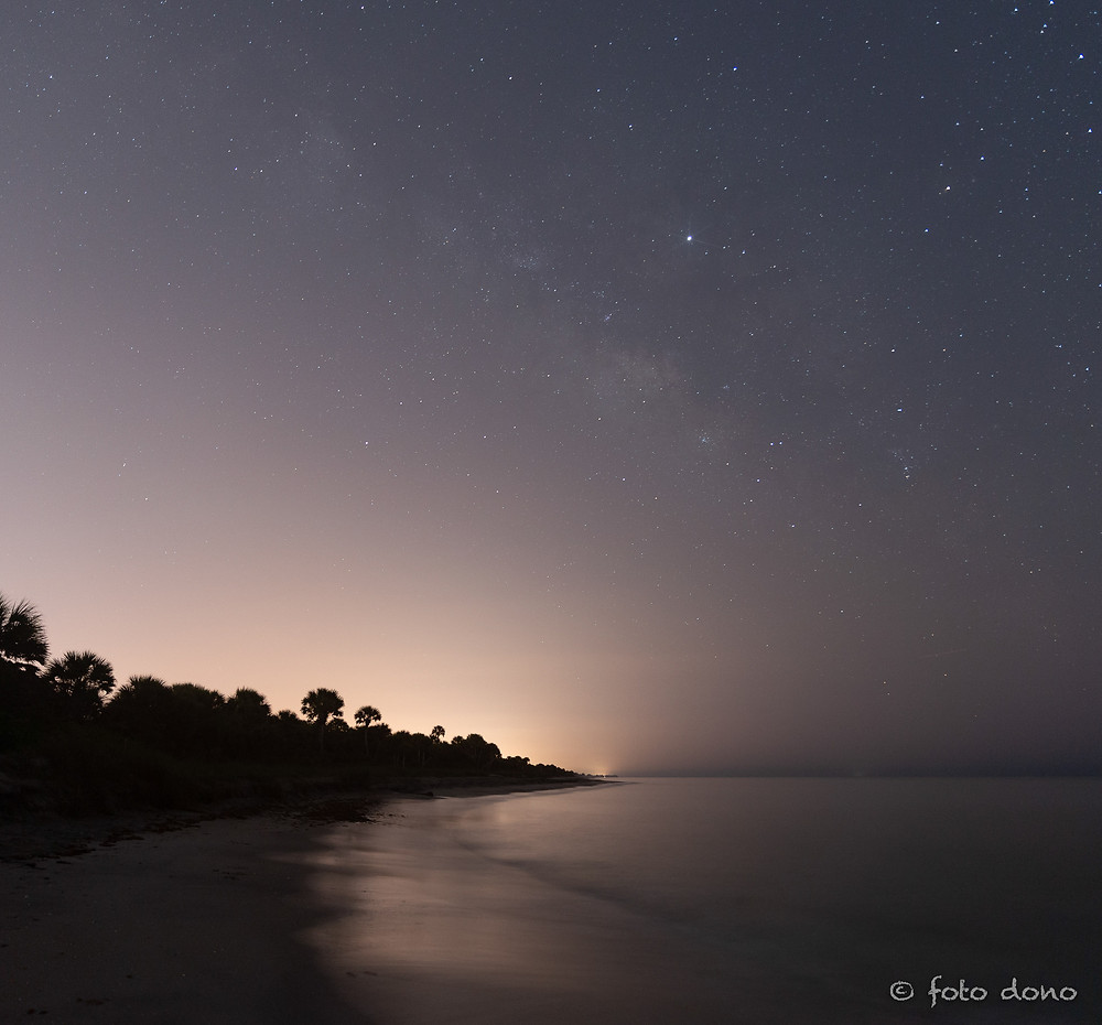 The city of Venice, FL creates a lot of light pollution