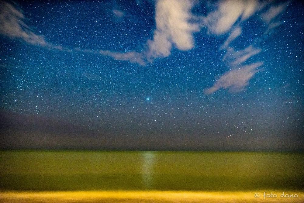 Night Sky Over Manasota Beach