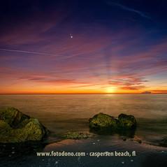 Jupiter-Saturn Conjunction at Caspersen Beach