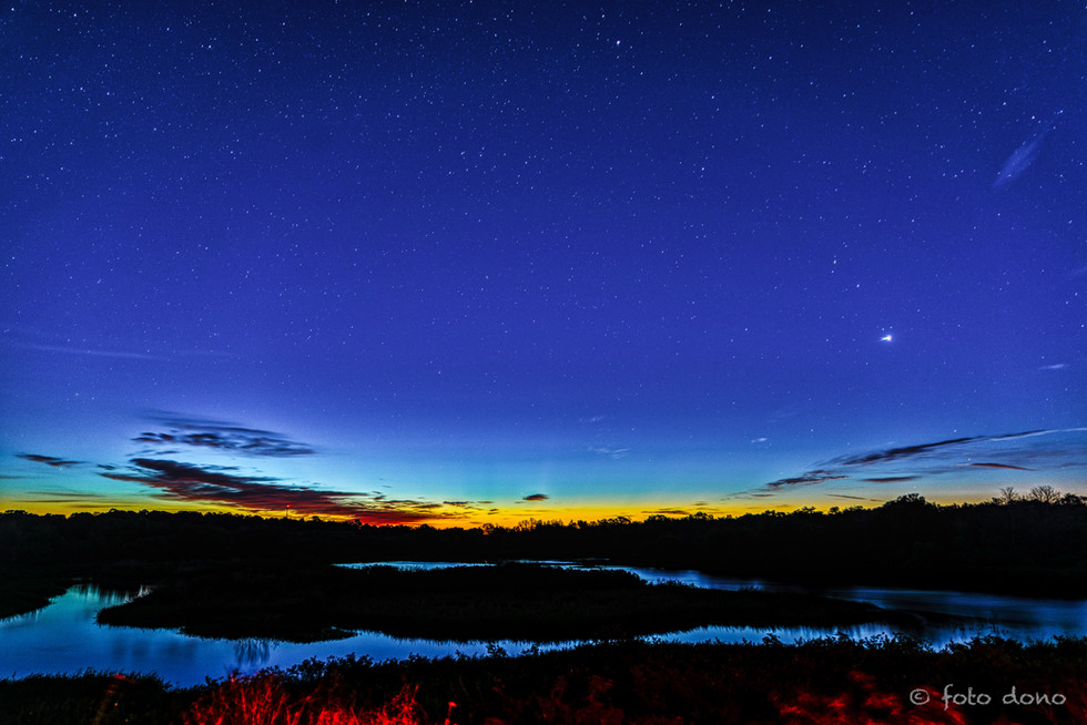 Venus Over Lake Manatee