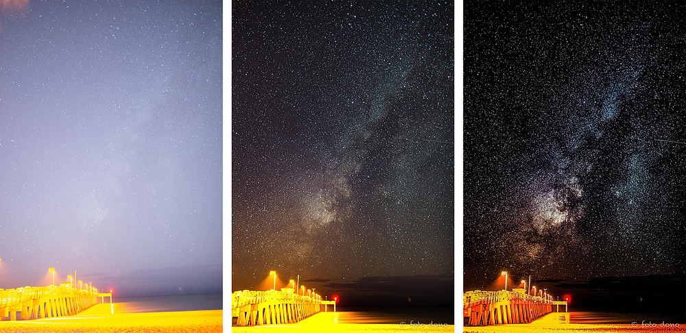 Milky Way over Venice Fishing Pier