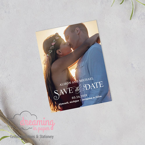 Linna Photo Save the Date Magnets