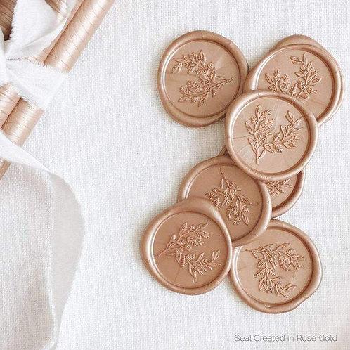 Self Adhesive Wax Seals Custom Designed