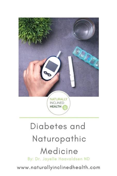 Diabetes and naturopathic medicine