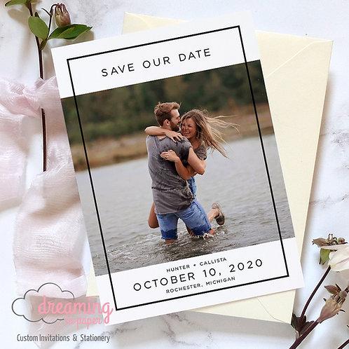 Callista White Save the Dates