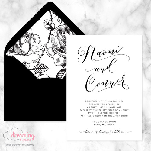 wedding invitations usa dreaming in paper