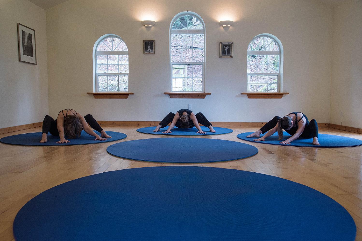 Image result for circular yoga mat