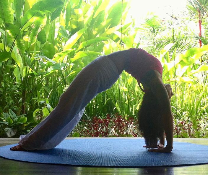 back bend in bali