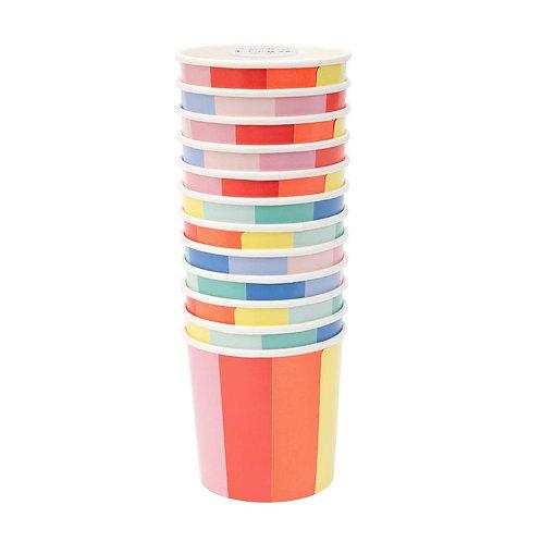 Color Wheel Tumbler Cup