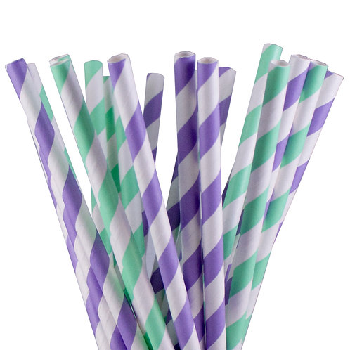 Let's be Mermaids Paper Straws