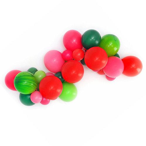 Watermelon DIY Balloon Garland Kit