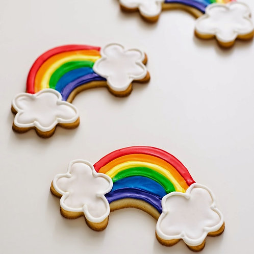 Unicorns + Rainbows Cookie Set
