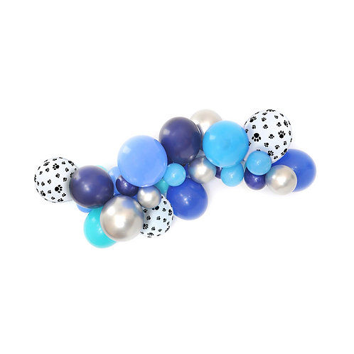 Blue Puppy DIY Balloon Garland Kit