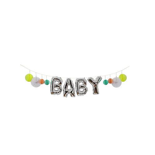 Baby Balloon Garland Kit