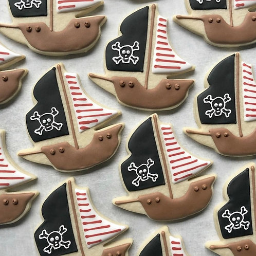Ahoy there Pirate Cookie Set