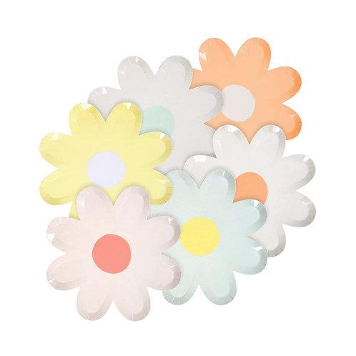 Pastel Daisy Large Plates