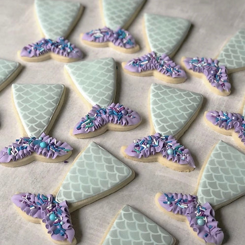Let's be Mermaids Cookie Set