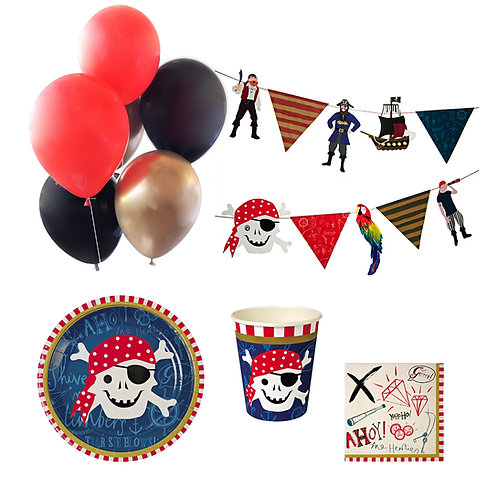Ahoy There Pirate Party Set