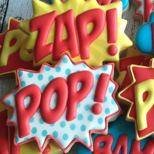 Super Hero Cookie Set