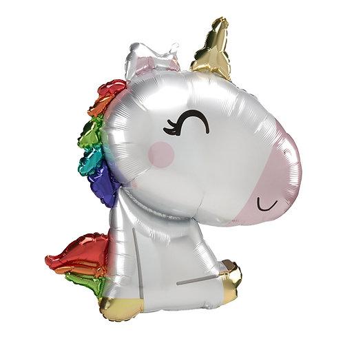 "29"" Satin Super Cute Unicorn"
