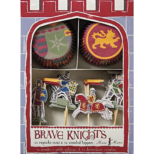 Brave Knights Cupcake Kit