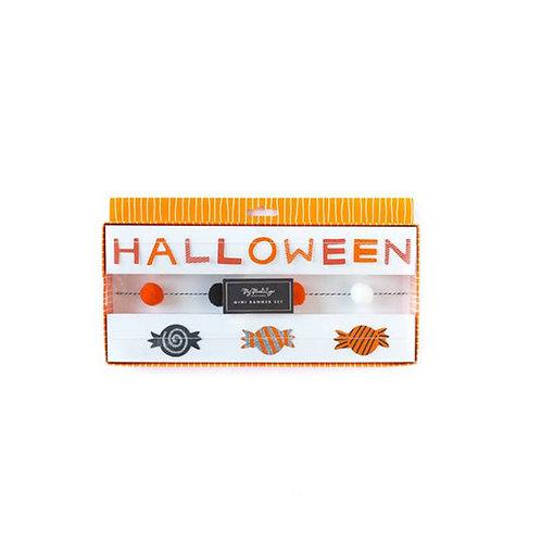 Halloween Mini Banner Set