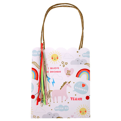 Unicorns + Rainbows Party Bags