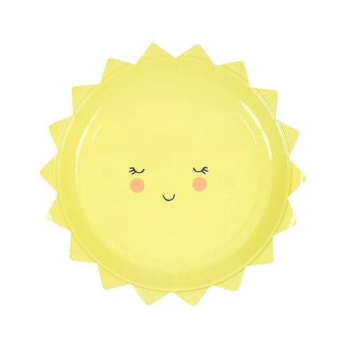 Small Sun Plate