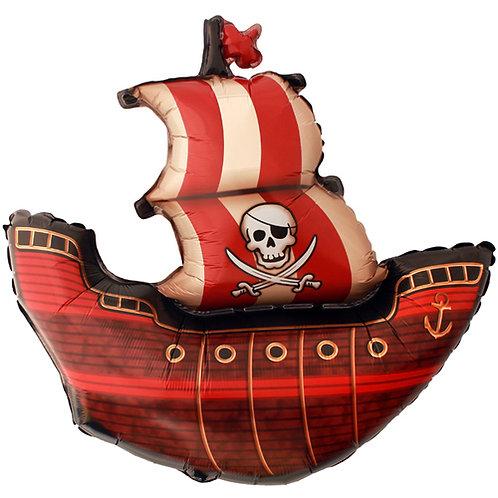 "40"" Pirate Ship Jumbo Balloon"