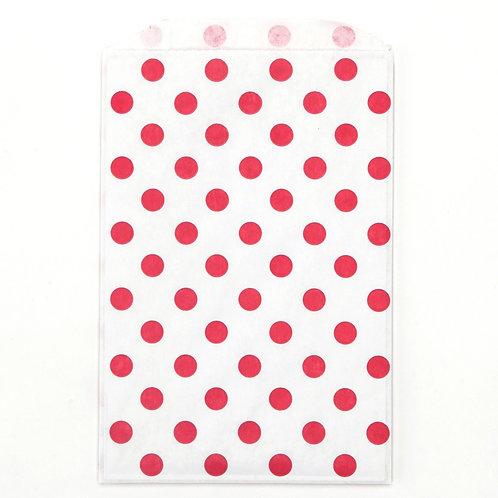 Red Polka Dots Party Bags
