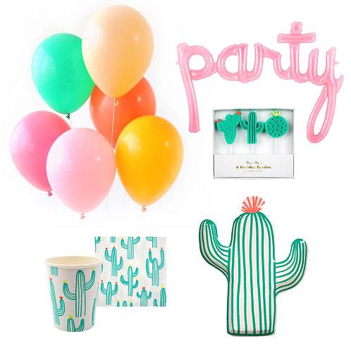 Cactus Fun Party Set
