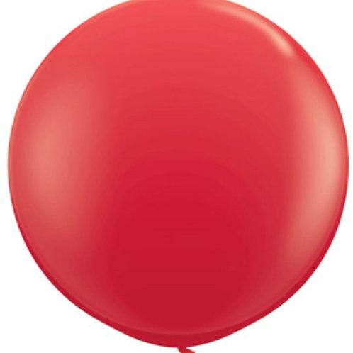 Jumbo Red Latex Balloon