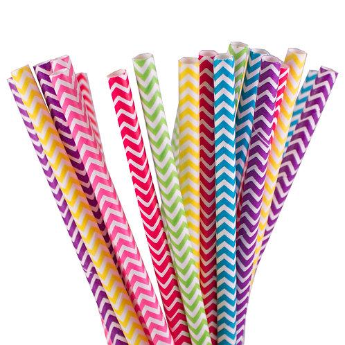 Unicorns + Rainbows Paper Straws