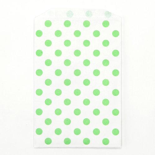 Green Polka Dots Party Bags