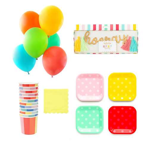 Hip Hip Hooray Party Box