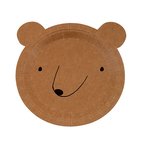 Small Bear Plate