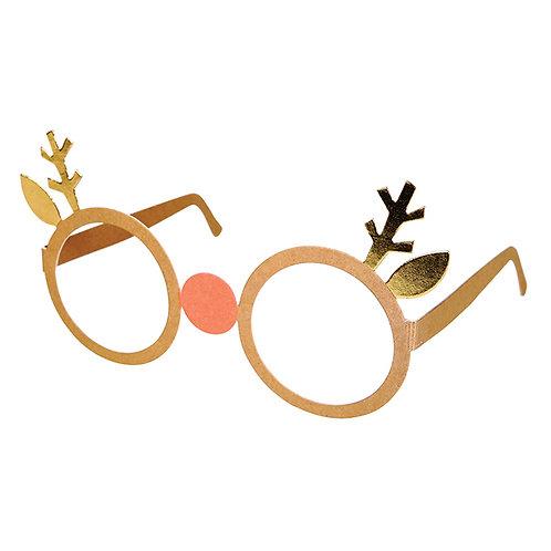 Reindeer Party Glasses
