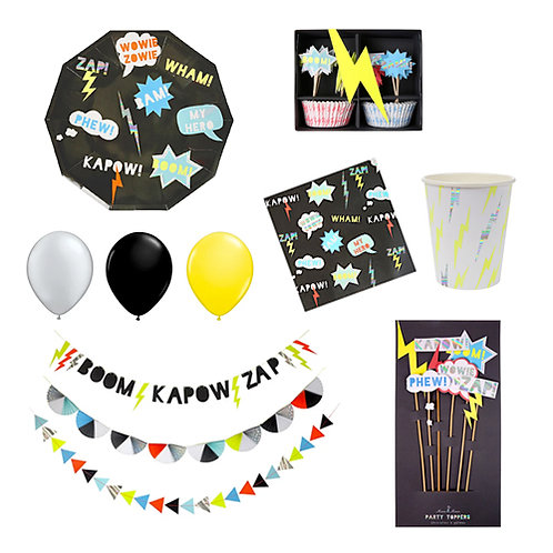 Super Hero Party Set
